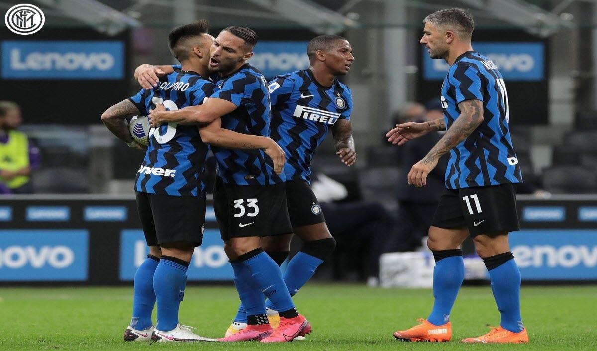 اهداف مباراة انتر ميلان 3 - 3 ضد فيورنتينا فى الدوري الايطالي