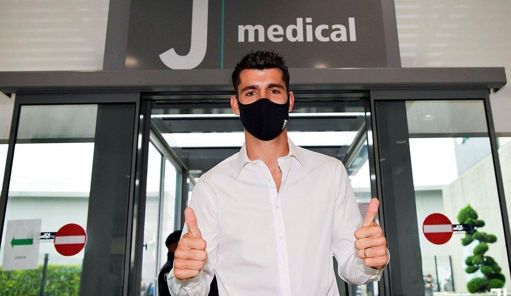رسميا .. ألفارو موراتا ينضم إلى يوفنتوس قادما من أتلتيكو مدريد