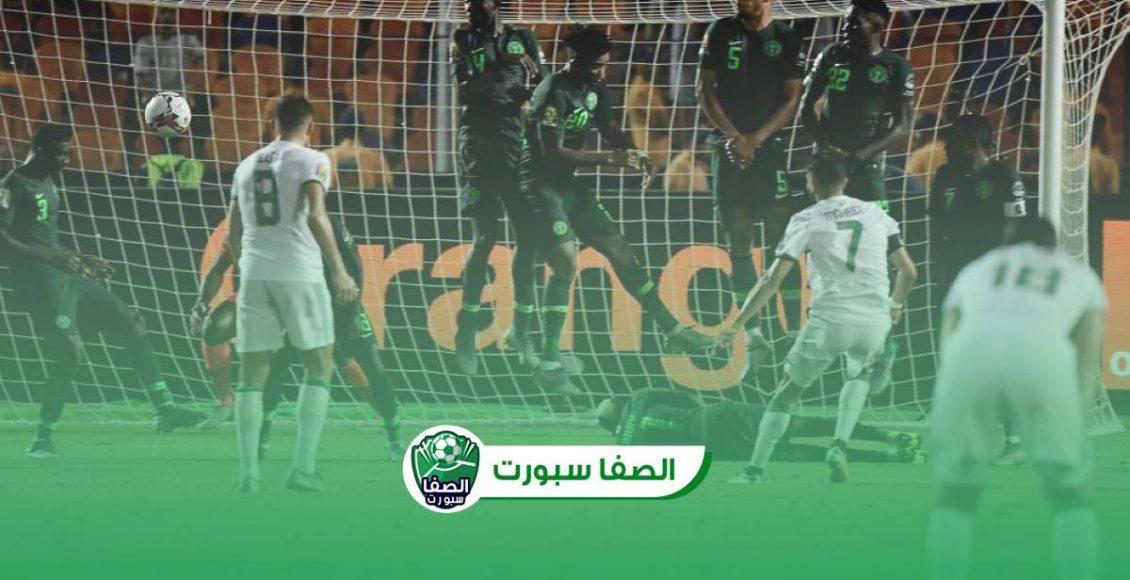 اهداف مباراة الجزائر ونيجيريا (1-0) اليوم في وديات المنتخبات