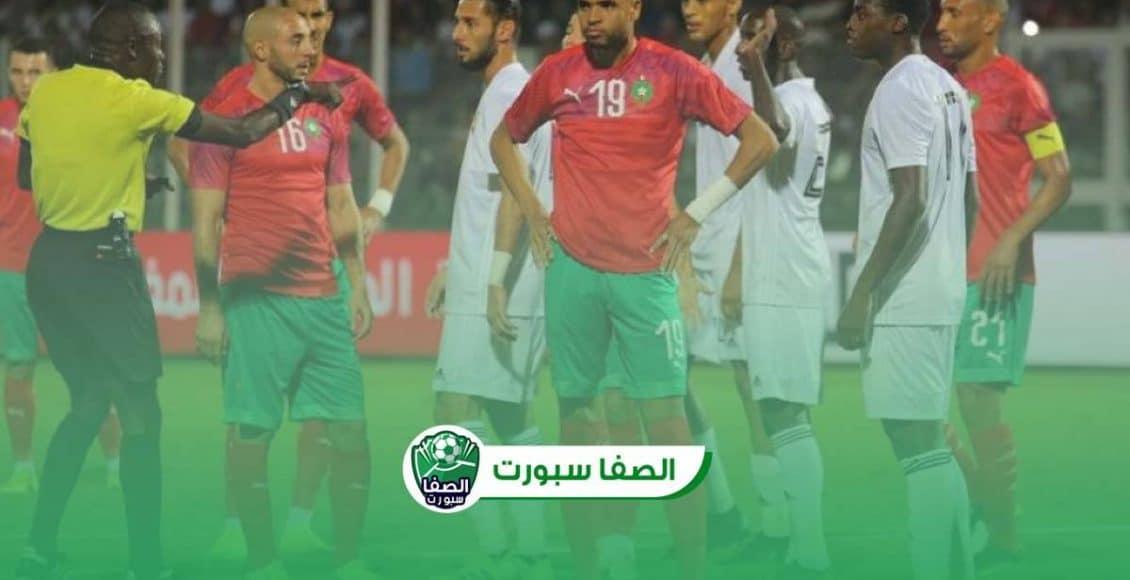 اهداف مباراة المغرب والسنغال (3-1) اليوم في وديات المنتخبات
