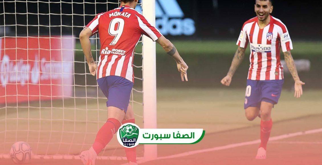 اهداف وملخص مباراة اتلتيكو مدريد وسيلتا فيغو (2-0) اليوم في الدوري الاسبانى
