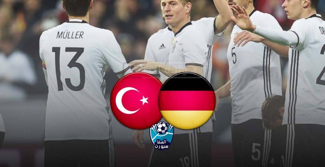 اهداف وملخص مباراة المانيا وتركيا
