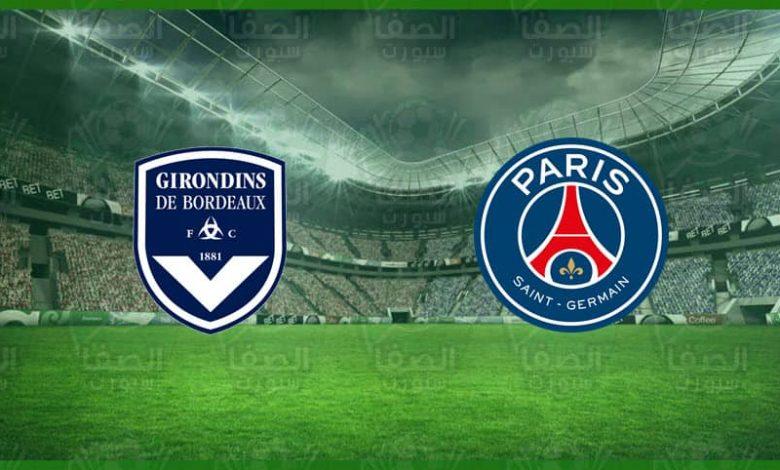 القنوات المفتوحة الناقلة و موعد مباراة باريس سان جيرمان و بوردو اليوم في الدورى الفرنسي