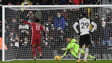 صورة التعادل الايجابي يحسم نتيجة مباراة ليفربول و فولهام اليوم … و محمد صلاح يسجل