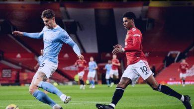 صورة التعادل يحسم نتيجة مباراة مانشستر يونايتد و مانشستر سيتي اليوم في الدوري الانجليزي