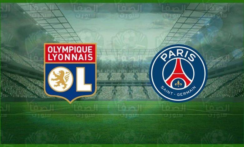 موعد و القنوات المفتوحة الناقلة مباراة باريس سان جيرمان و ليون اليوم في الدورى الفرنسي