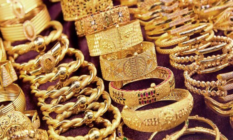 اسعار الذهب بمحلات الصاغة