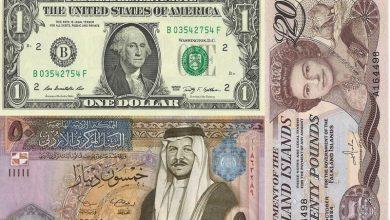 صورة سعر صرف العملات العربية والاجنبية امام الجنيه المصري اليوم 5-1-2021