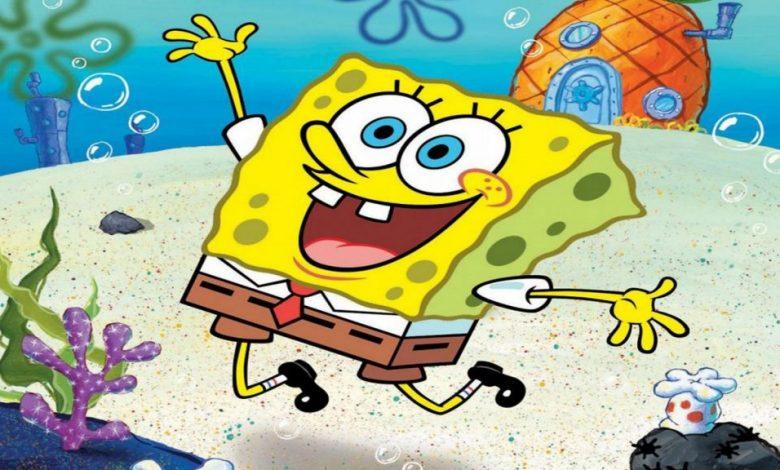 صورة تردد قناة سبونج بوب Spongebob المفتوحة للأطفال على النايل سات 2021