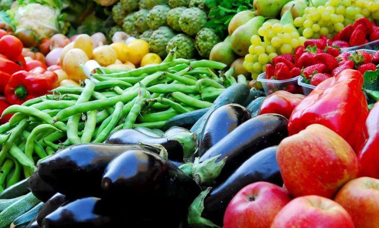 أسعار الخضار والفاكهة واللحوم والأسماك والدواجن الاثنين 22-2-2021