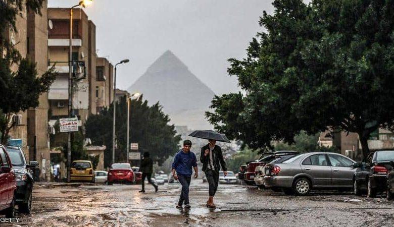 أمطار ورياح .. حالة الطقس اليوم السبت 27-2-2021