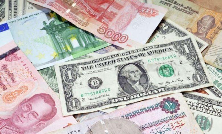 سعر الدولار واليورو اليوم وأسعار العملات الأجنبية في مصر الاثنين 1-3-2021