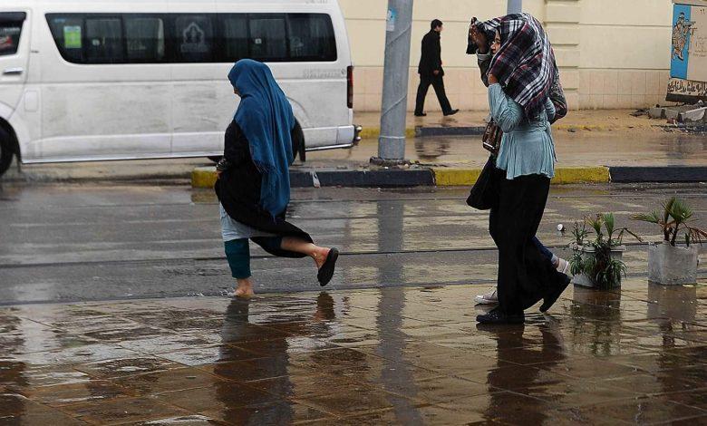 ذروة الطقس السيء.. خريطة سقوط الأمطار الساعات المقبلة